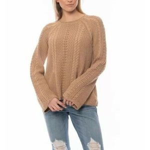 New Acrobat Evie Cable Knit Sweater